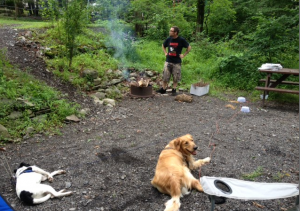 my three boys love camping