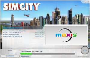 SimCity Patching